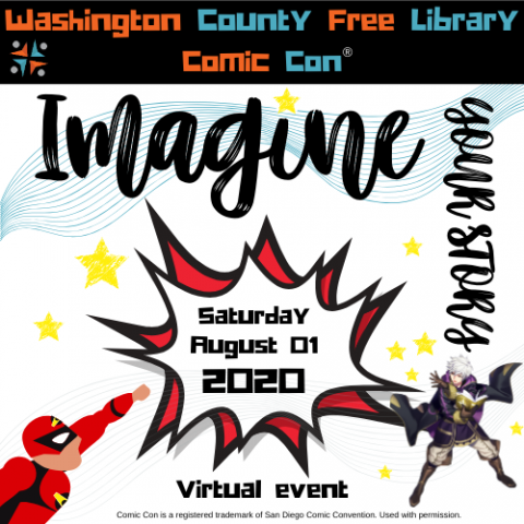 Washington County Free Library Comic Con: Imagine Your Story!